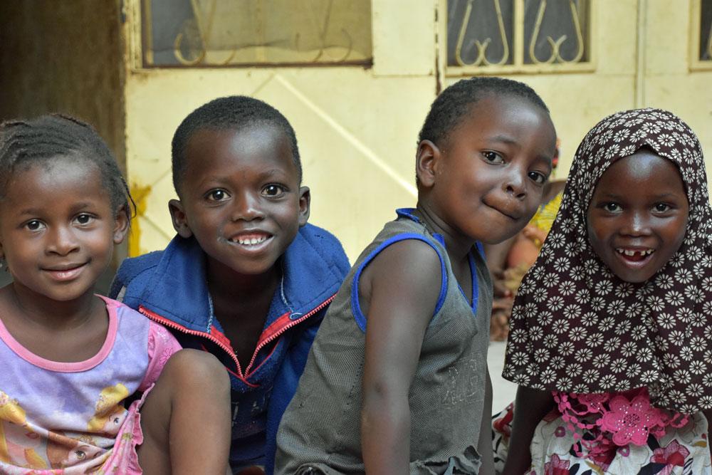 Adorable Malian Children