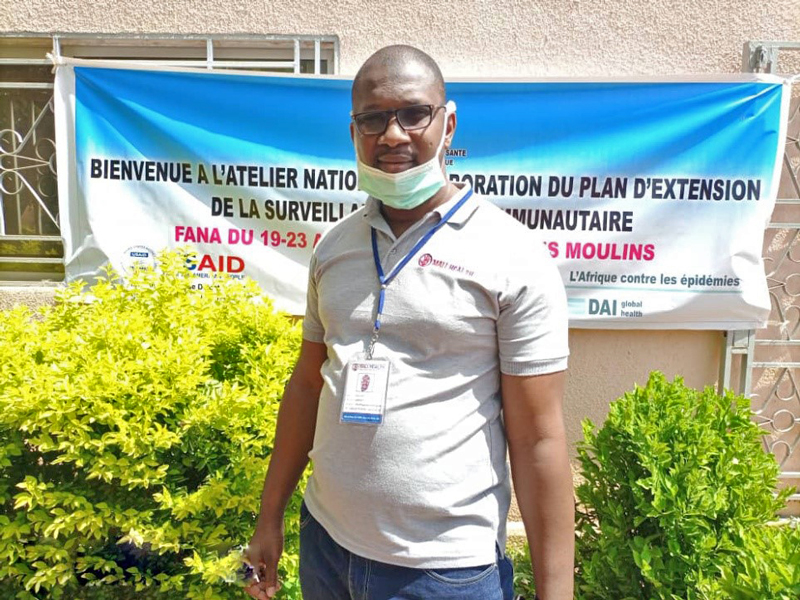 Dr. Sogoba serving as a voice for community health at the highest levels