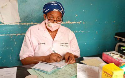 Meet Haby Koné, midwife at the health center in Boulkassoumbougou