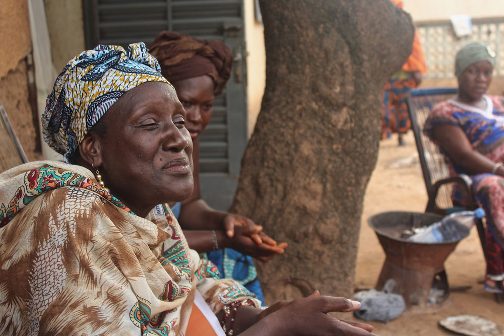 The midwife from the Sotuba health center explains what to expect when women arrive at the health center for delivery